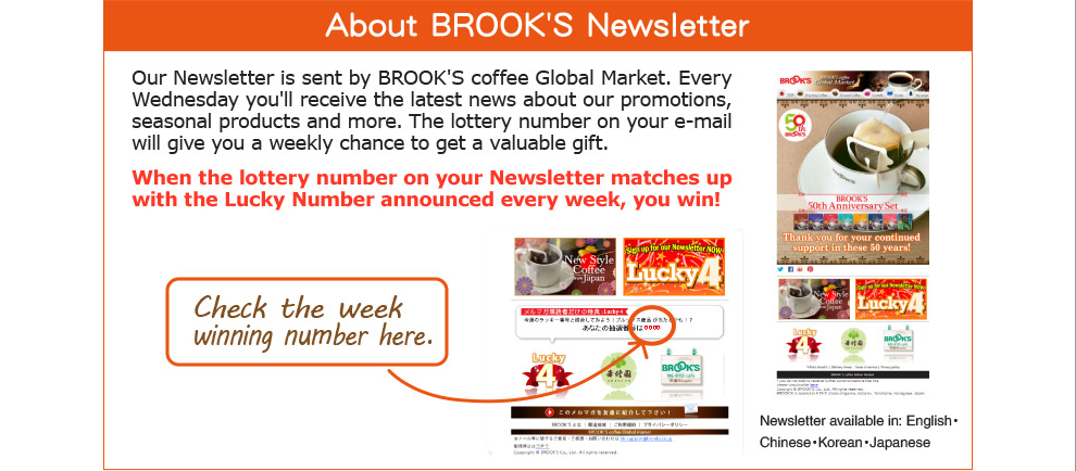 About BROOK'S Newsletter