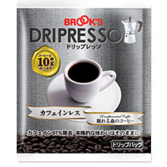 DRIPRESSO Decaffeinated Coffee 80pcs