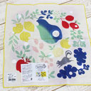 Reversible, hand-dye handkerchief, Fruits