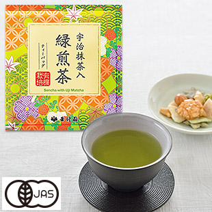 [KOSYUEN] Sencha with Uji Matcha 30pcs(Tea Bag)