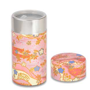Tea Caddy SHIKISAI(PINK)